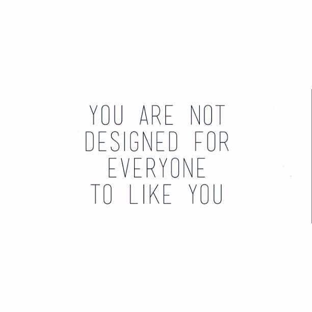 True statement! Be yourself, whether people like it or not… You can't please everyone! #FeistyGirl