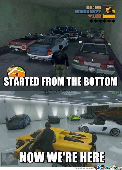 GTA •• Started from the bottom