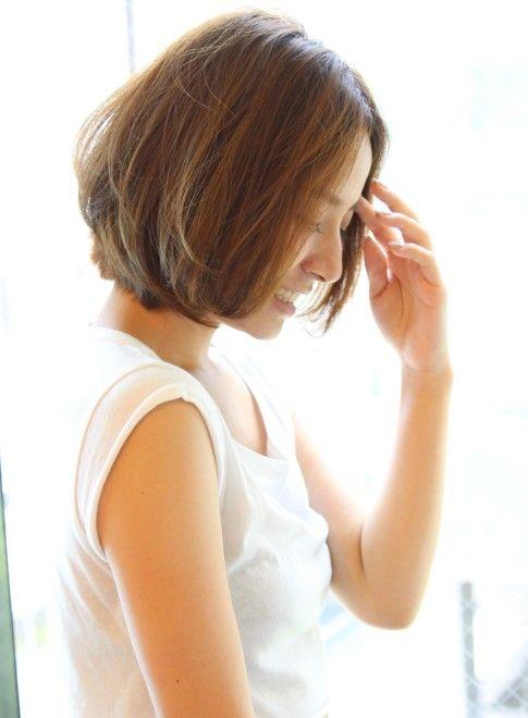 大人女性の柔らかボブ(髪型ボブ)
