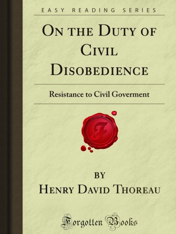resistance civil government thesis Henry david thoreau and resistance to civil thesis /dissertation henry david thoreau and resistance to civil government.