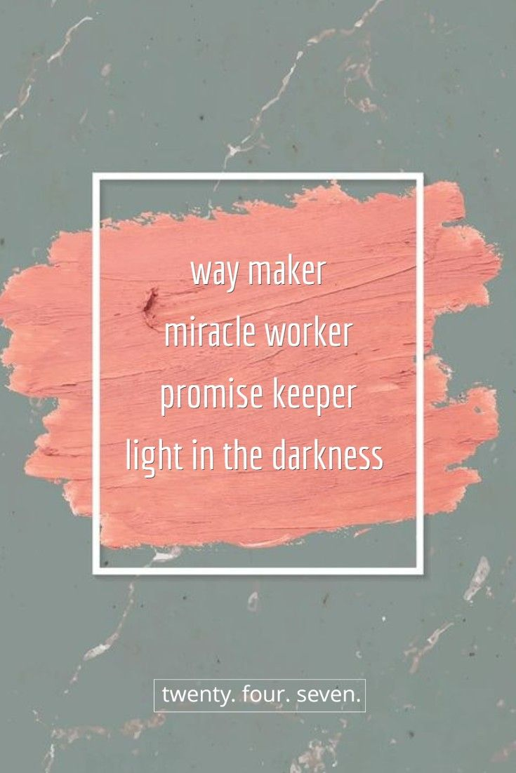 Waymaker In 2020 Promise Keepers Miracles The Twenties