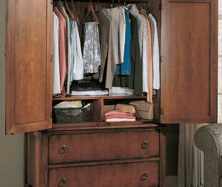 16 Extraordinary Clothes Armoire Snapshot Ideas
