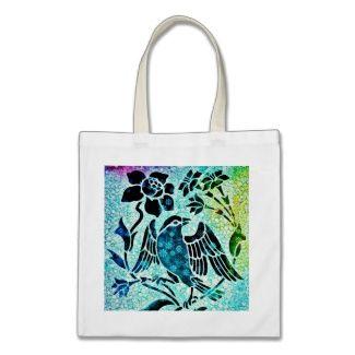 Bird Mosaic Bag by DivaMM