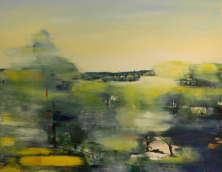 "Saatchi Art Artist: Kia Taegen; Oil 2011 Painting ""Voyager III"""