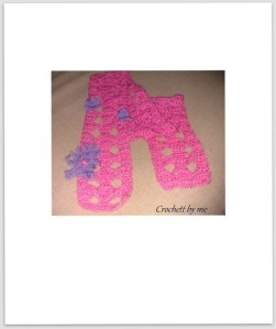 pink scarf for girls