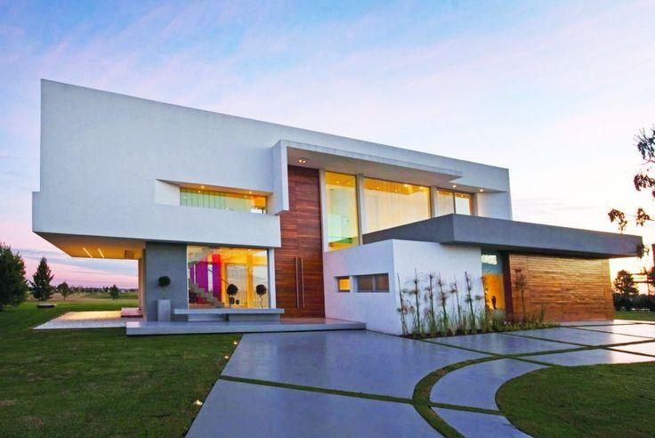 Fotos De Casas | fotos-de-fachadas-de-casas-modernas