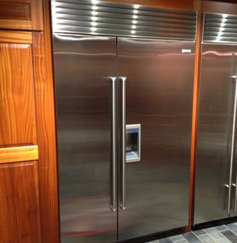 The five best counter depth refrigerators include french doors and side by sides from 5 different manufacturers. Article updated November 2013