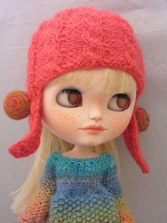 Vyhrazeno pro Stefanie: Blythe nastavit Kombinéza navíc klobouk klobouk