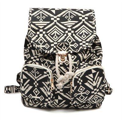 Pimkie.es : Una mochila aún más trendy gracias a su estilo navajo.