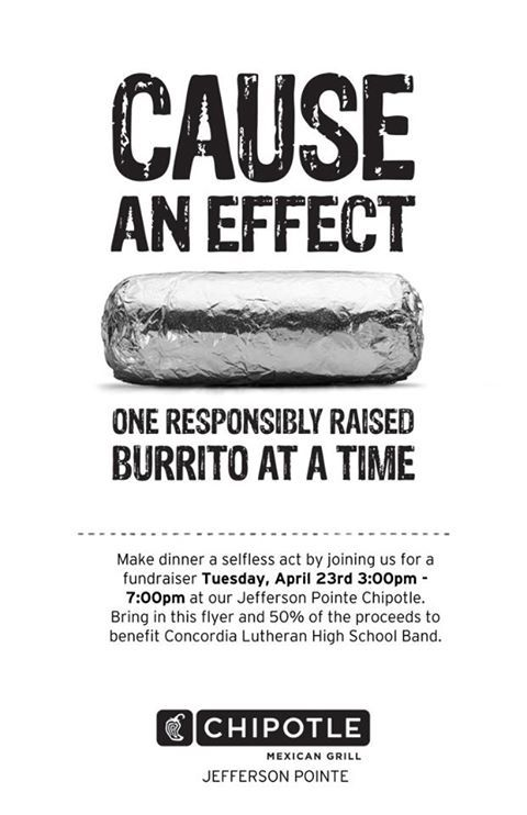 burrito time cause an effect one responsibly raised