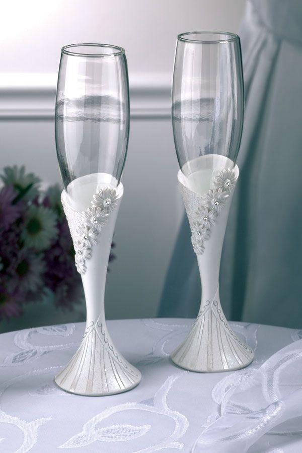 390 best copas y botellas decoradas images on pinterest for Copas de champagne