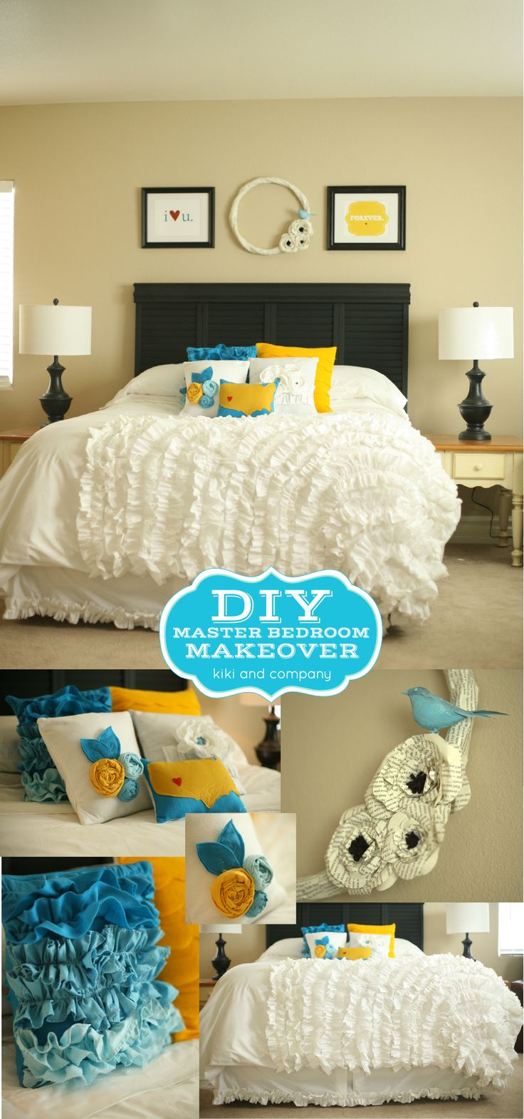 1000 images about bedroom redo ideas on pinterest diy headboards soccer and guest rooms Diy master bedroom makeover