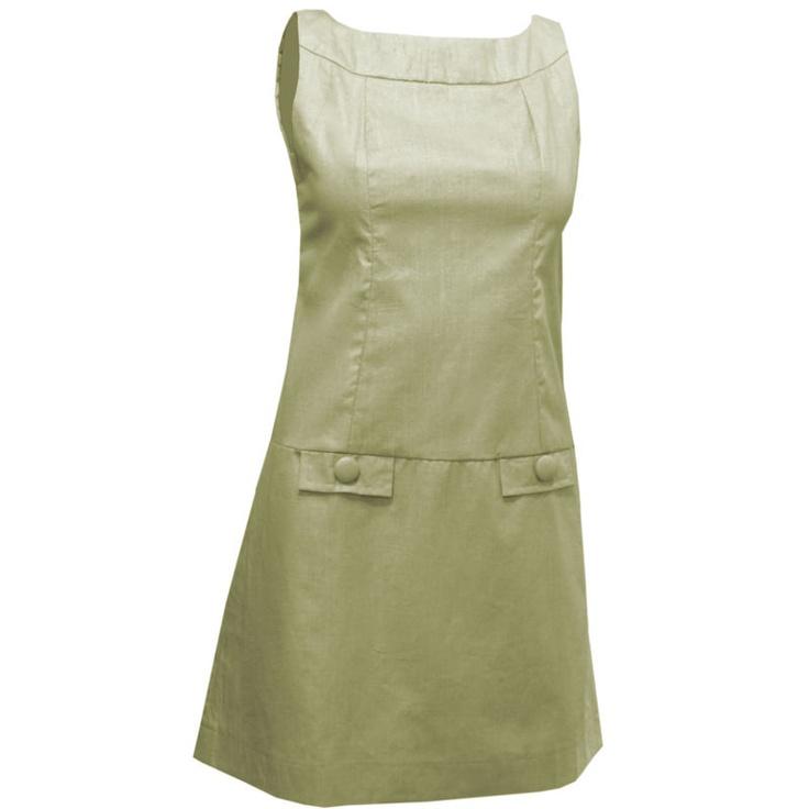 Vestido Tubinho Anos '60 Dourado - LANÇAMENTO! R$149.00