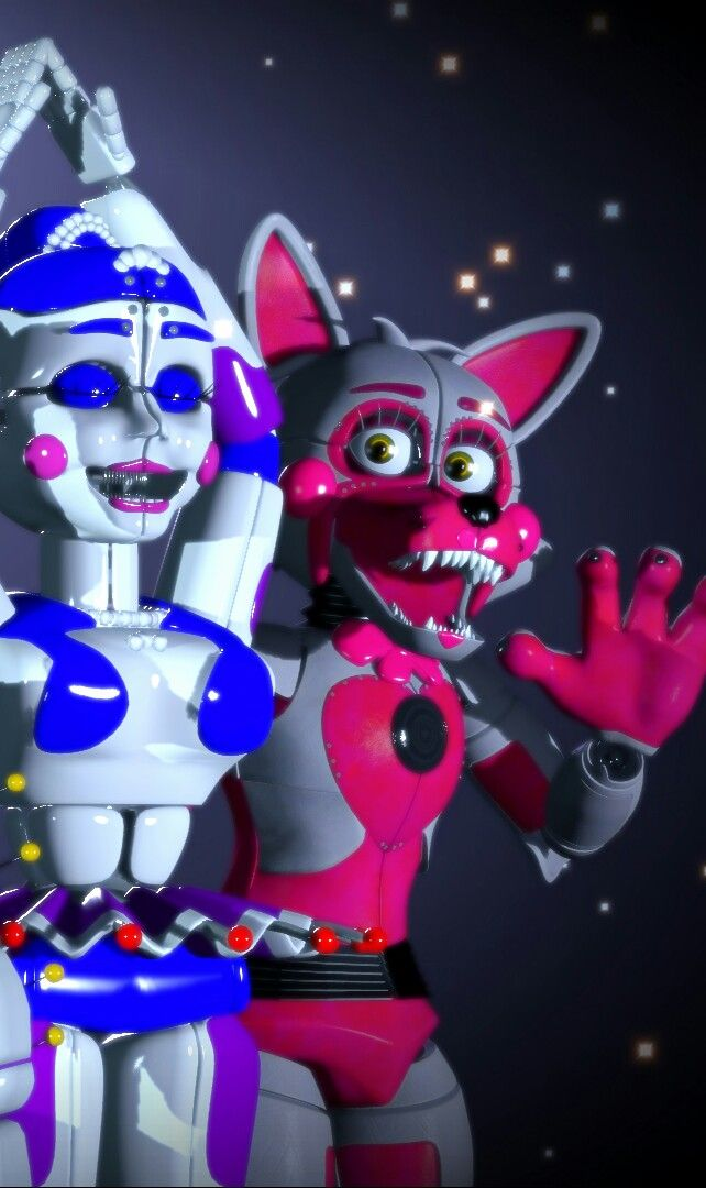 Funtime Foxy And Ballora Funtime Foxy Fnaf Sister