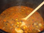 One of my new favorite Daniel fast recipes. Wild rice and veggie soup
