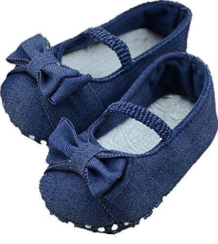 Oferta: 1.29€. Comprar Ofertas de Zapatos de Bebé,Ouneed ®Bebé niña Bowknot Denim niño princesa primera zapatos para caminar (11, Azul) barato. ¡Mira las ofertas!