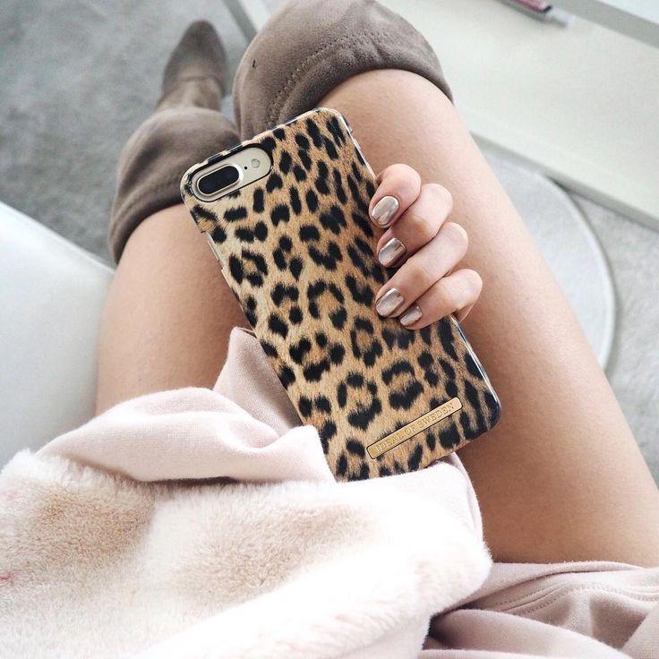 Wild Leopard by gorgeus @mariiajulia_ - Fashion case phone cases iphone inspiration iDeal of Sweden #leopard #wild #gold #fashion #inspo #iphone #phonecase