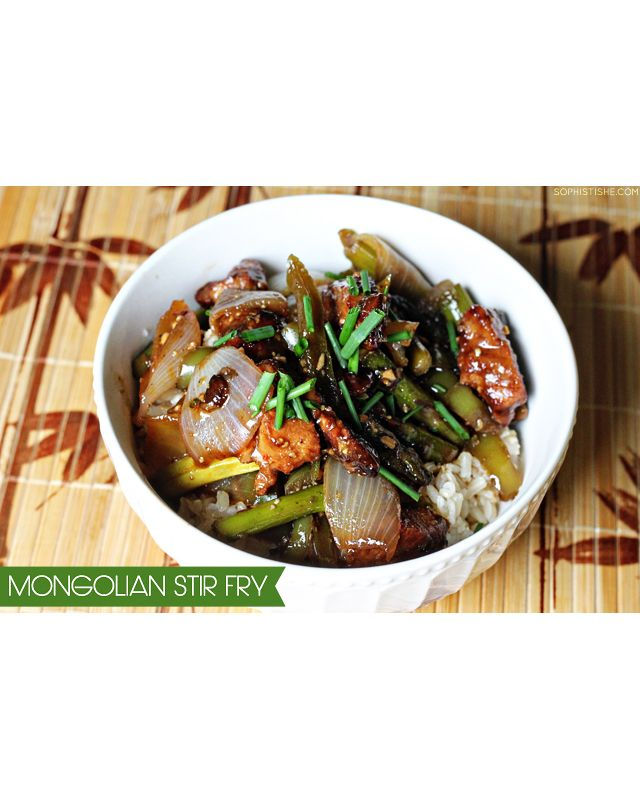 Mongolian Stir Fry Recipe / Sophistishe