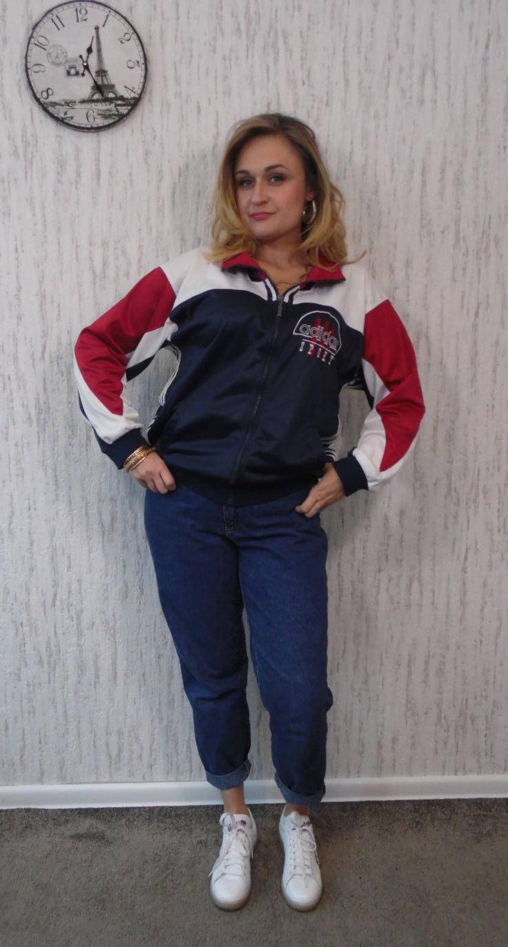 Vintage tracksuit Adidas by SweetSpicyVintage on Etsy
