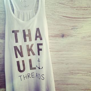 Sunday mornings with the perfect tank ☮ Have a soulful Sunday