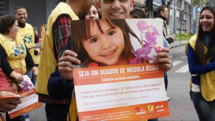 Blumenau - Mãos que Ajudam na Mobilização para Doar Medula Óssea