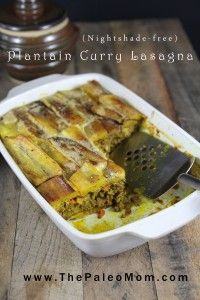 Plantain Curry Lasagna | The Paleo Mom thepaleomom.com @Sarah Ballantyne