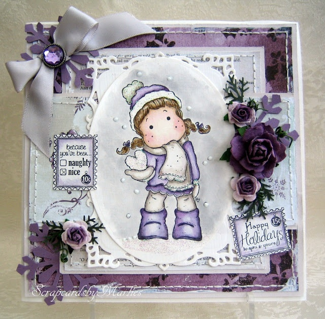 Scrap Cards by Marlies- she makes BEAUTIFUL cards! Must visit! :)