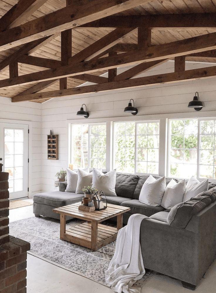 Mature Furniture Living Room Ceiling Beams #furnit…