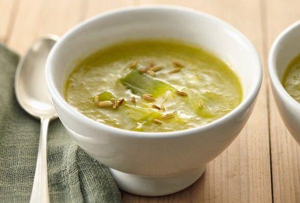 Une délicieuse soupe de poireaux pour se réchauffer en automne et en hiver !