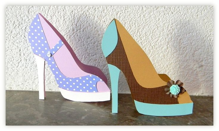 1000 images about womens cards on pinterest paper for High heel template for cards