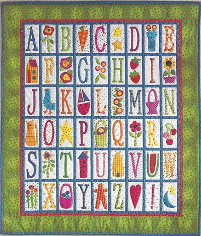 199 Best images about Alphabet quilts on Pinterest Antique quilts, Quilt and Alphabet a