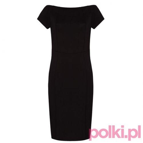 Czarna sukienka, Mohito #polkipl