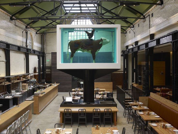The Tramshed, Shoreditch EC2 - 150 capacity and comes complete with Damien Hirst's Cow in Formaldehyde!