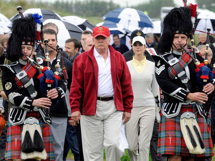 Trump's Scottish golf plans face new obstacles after Charlottesville