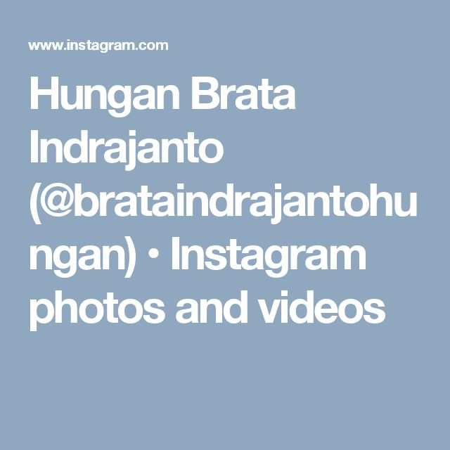 Hungan Brata Indrajanto (@brataindrajantohungan) • Instagram photos and videos