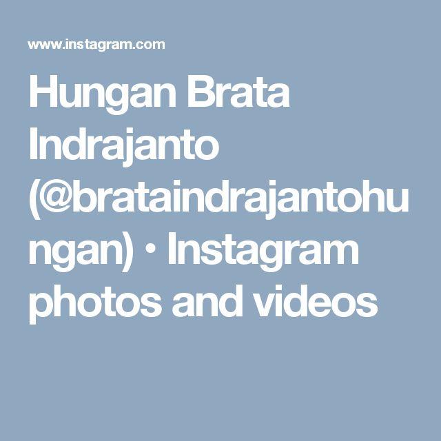 Hungan Brata Indrajanto (@brataindrajantohungan) • Instagram photos and videos