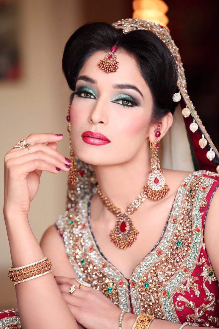 Bridal Makeup Model Images : Makeup by new look Model bridal makeup Pinterest New ...
