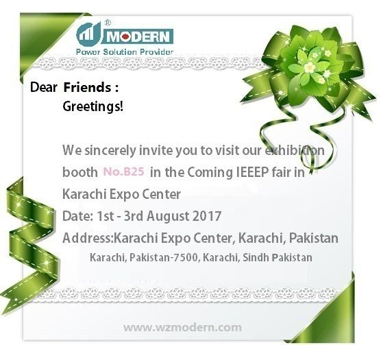 Welcome to our booth B 25 #IEEEP #Fair in #Karachi,from Aug 1st-3rd. Display items: #Voltage #stabilizers, voltage #regulation, voltage #optimizer, #transformer, #reactor, PFC etc... contact: Tony E:tony@wzmodern.com whatsapp: +86 135 6635 5341