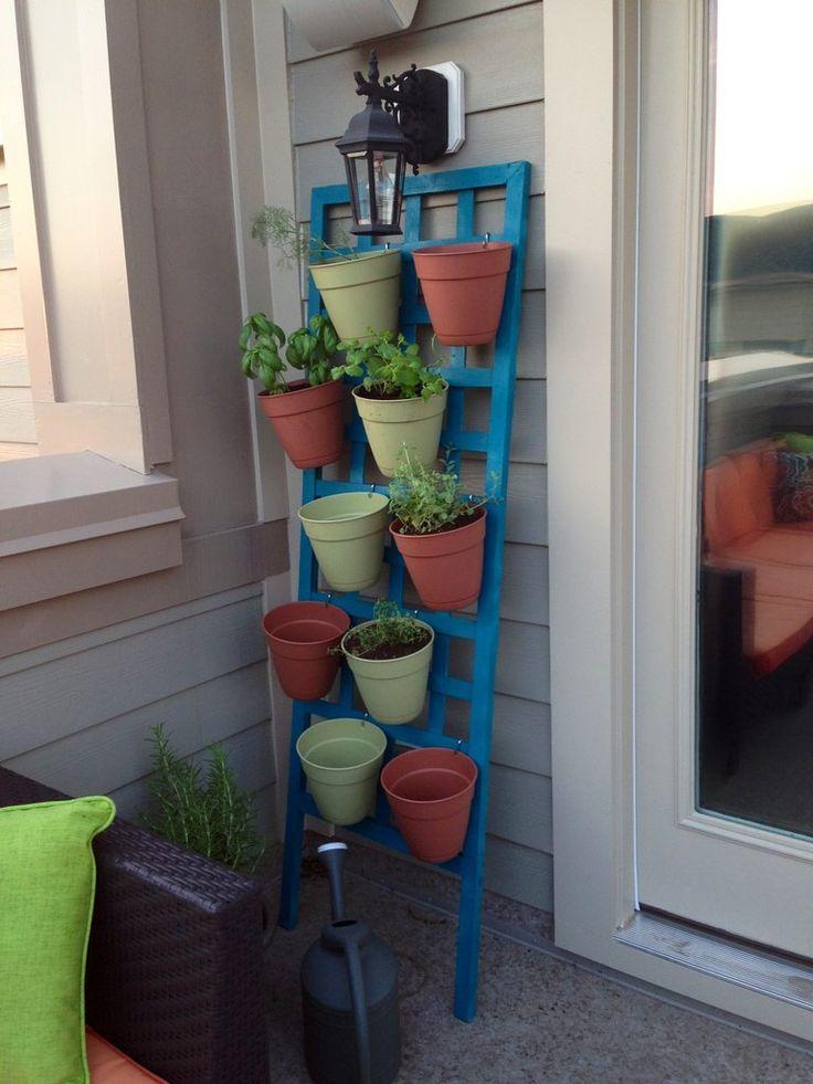 Vertical Patio Herb Garden