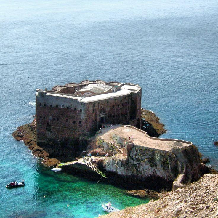 Ilha das Berlengas Forte de São João Batista das Berlengas  MAFALDA SILVA