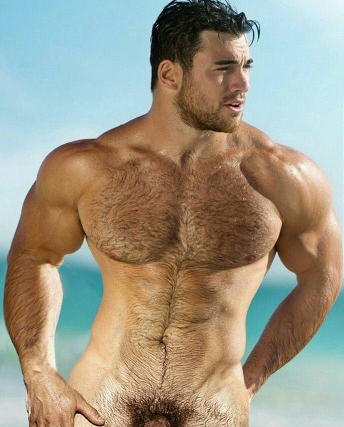 Can not hairy chest muscle men very pity