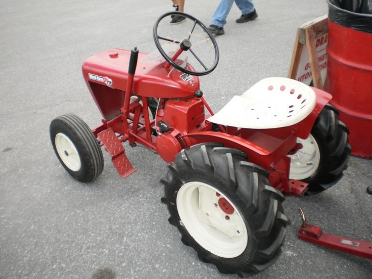 Talk, Small garden tractors vintage or antique