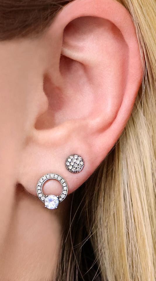 Remi Florence + Lauren Joy diamond studs are the perfect match! #diamonds #earrings #danarebecca
