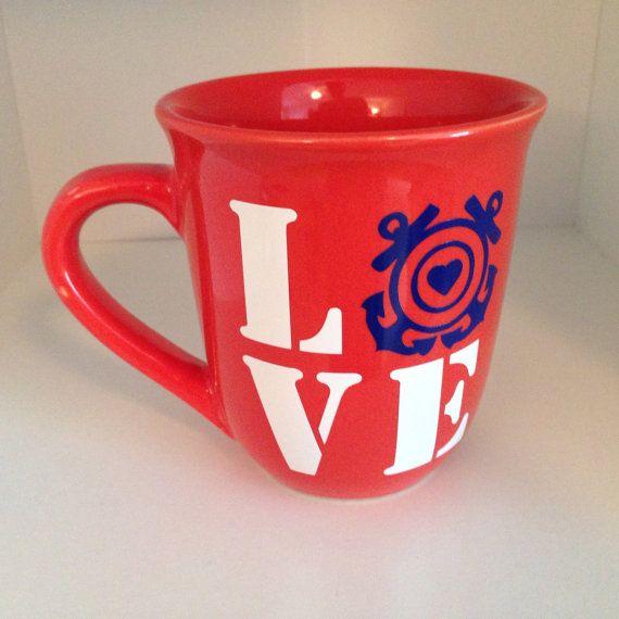 Coast Guard Love Mug by Cafe47 on Etsy, $10.00