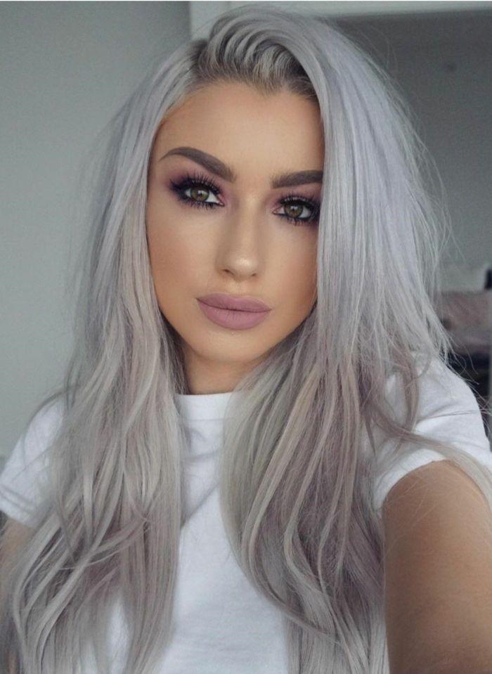 Trend graue haare
