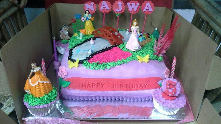 Najwa bday cake