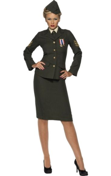 Want to zombie this up for this year's Halloween! #wartime #ww2 #officer