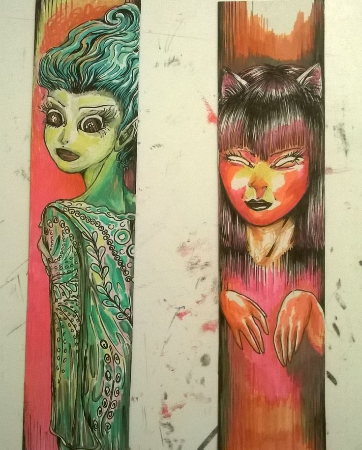 #cardboard  #bookmarks #crazybookmarks #crazy #handmade #handmadebookmarks #bookmark 🔖 #color #comic #comicart #art #artwork #colorful #kitty #cat #kittycat #aquatic #aquarium #aquawoman #catwoman #ink  Artwork by Natzz Bazante ✨