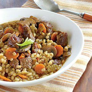 25 Best Budget Recipes | Beef-Barley Soup | CookingLight.com