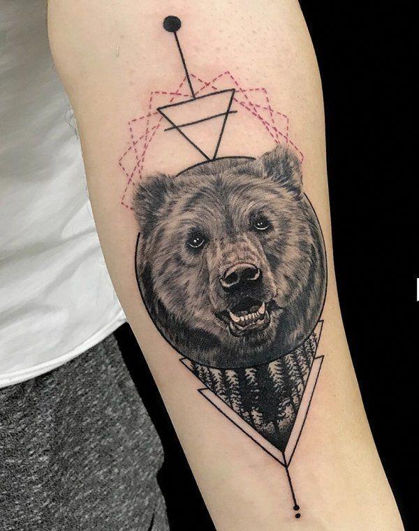 39+ Bear tattoo art information
